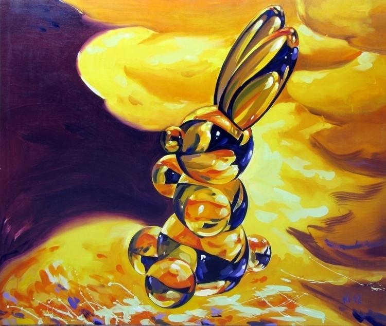 Sunbeam - painting, illustration - igorkonovalov   ello