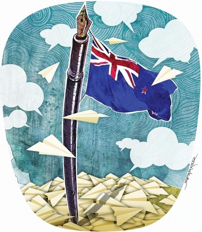 Freedom speech. Zealand country - richardparker-9013 | ello