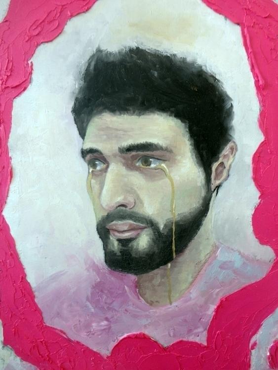Painting, selfportrait, armandobravo - armandobravo | ello