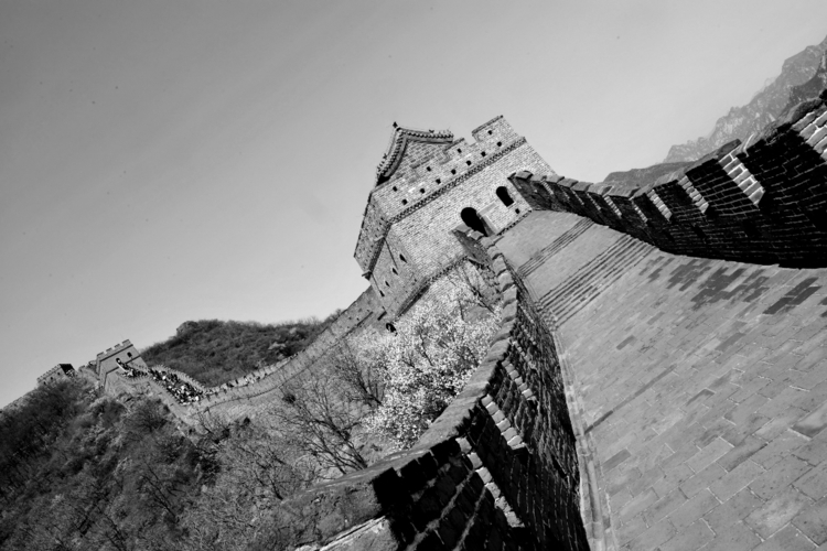 Watchtower - wall, china, blackandwhite - cmvanclevephotography | ello