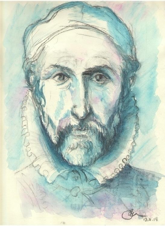 Copying Masters - illustration, drawing - emilygrobler | ello