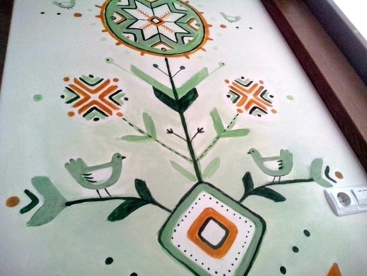 Tree Life - drawing, interiordesign - viterzbayraku | ello