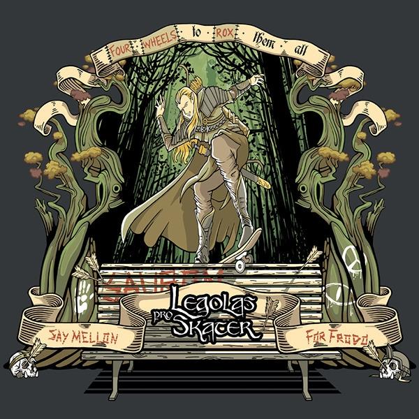 illustration, legolas, lordoftherings - bruno-1160 | ello