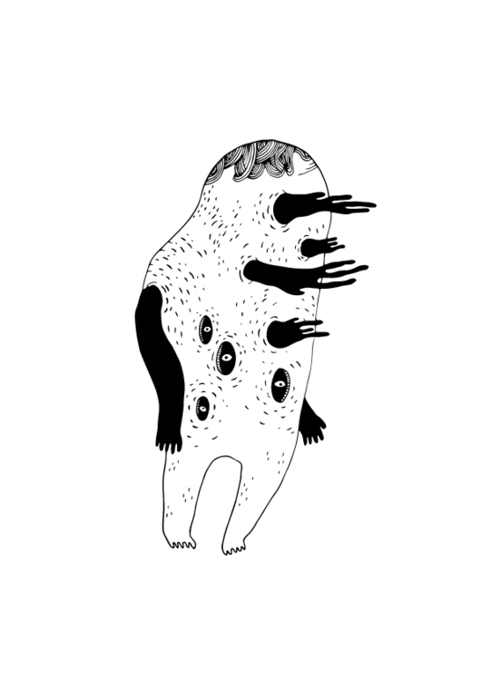 GRUFF MONSTER - illustration, characterdesign - kimbogruff | ello