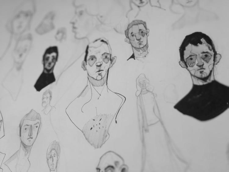 Sketchbook Studies - 01, sketchbook - jordan_buckner   ello