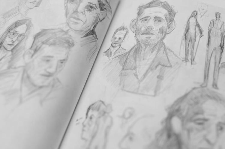 Sketchbook Studies - 02, sketchbook - jordan_buckner   ello