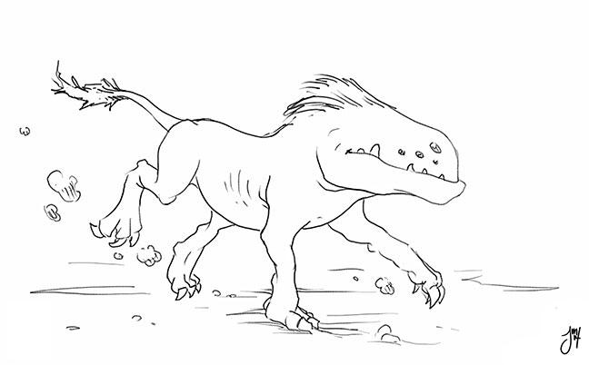 mighty Grontog prowls plains se - jasonmartin-1263   ello