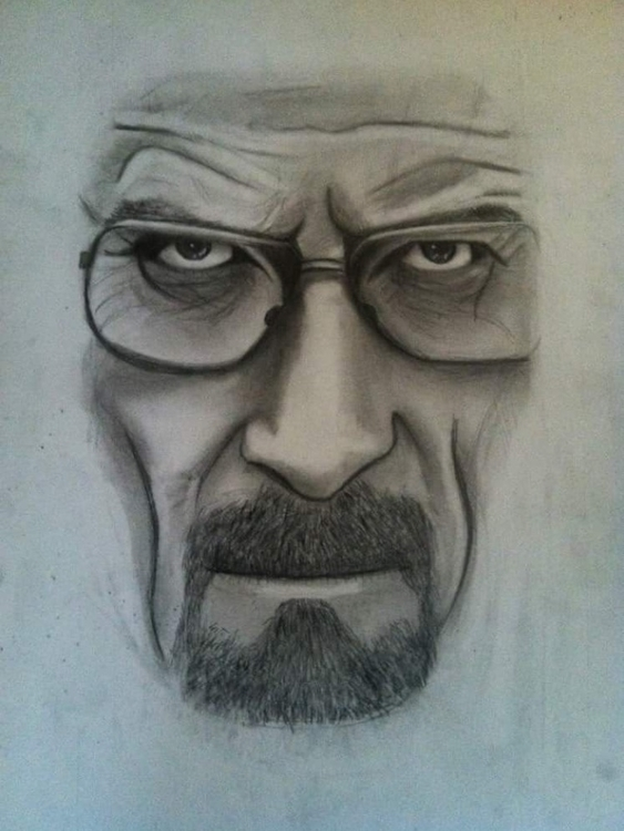 Heisenberg - drawing, breakingbad - katiecorley14 | ello