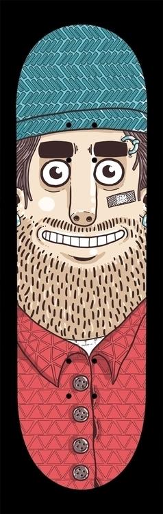 Puppet - skateboard artwork - puppet - emanuelem | ello