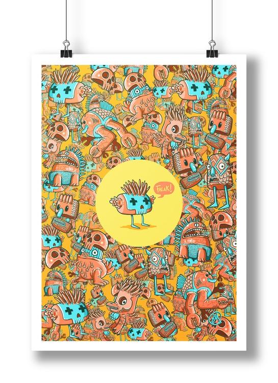 Doodles - Monster, monster, doodle - emanuelem | ello