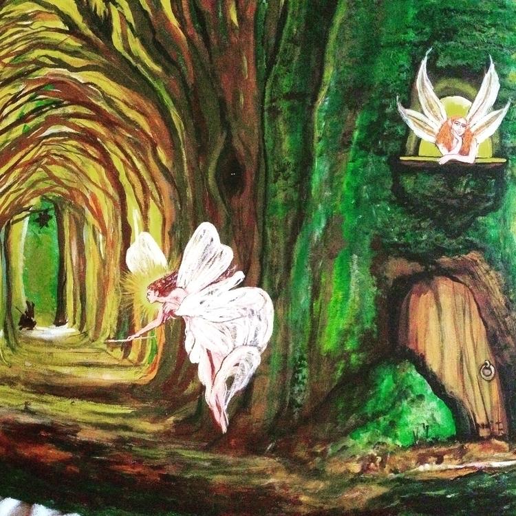 Fairyland - fairy, thefairyqueen - khesspowell   ello