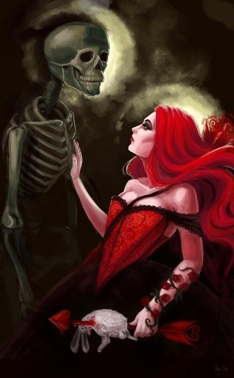 Love preys living praises dead  - hyanide   ello