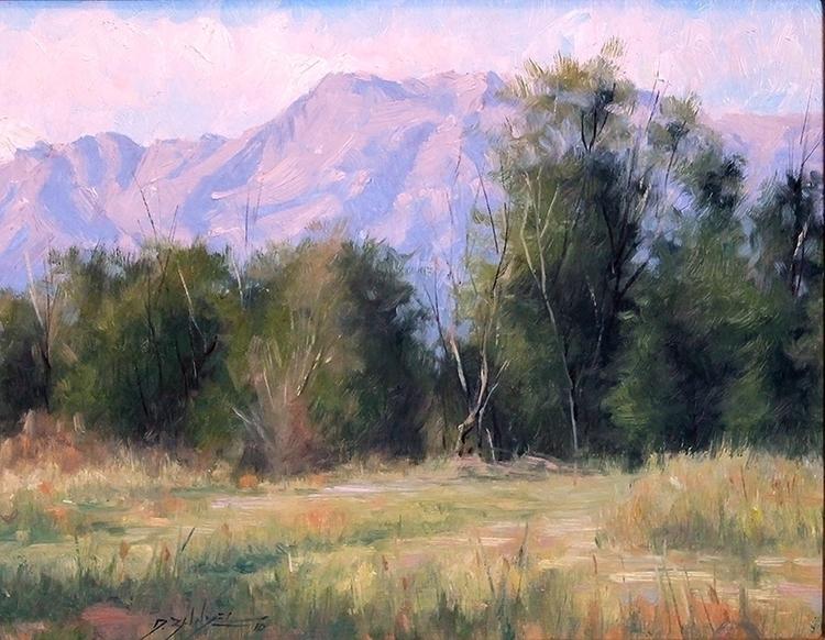 painting, pleinair, landscape - dallynzundel   ello