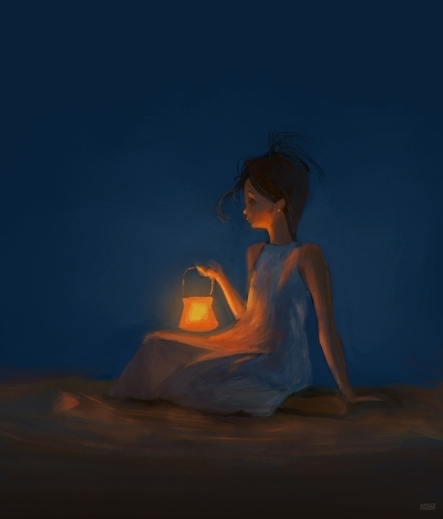 1 hour speed paint reference - lamps - ameermagdy | ello