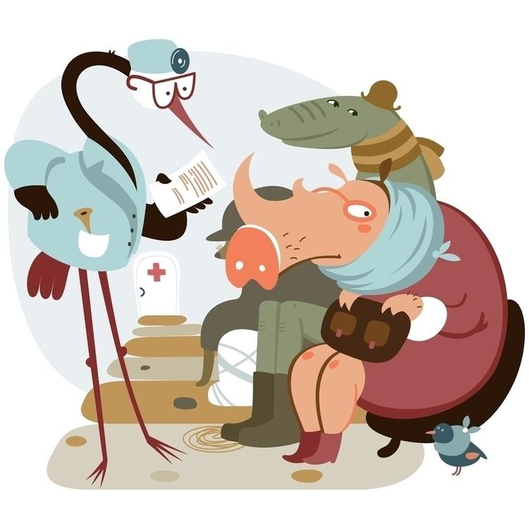 pig - illustration - natatulegenova | ello