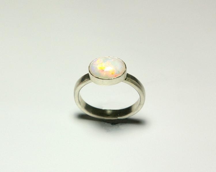 Handmade Sterling Silver Opal R - tessbulman | ello
