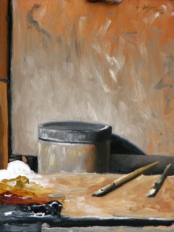 painting, pleinair, stilllife - dallynzundel | ello