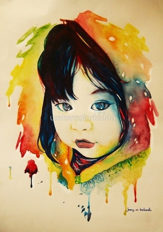 Curiosity watercolor paper Prin - watercolorkiddo | ello