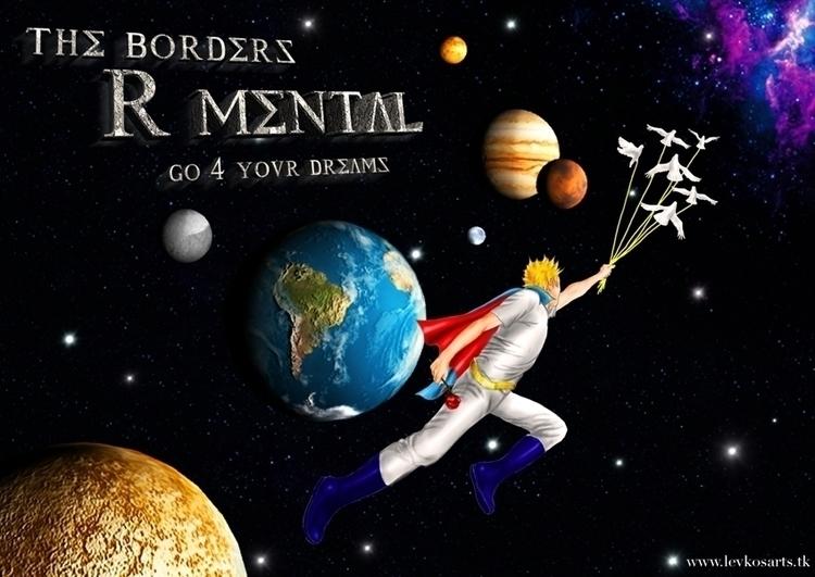 Los límites son mentales - 3d, design - eddyg-1360 | ello