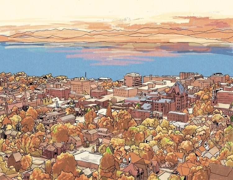Autumn Burlington - illustration - asve | ello