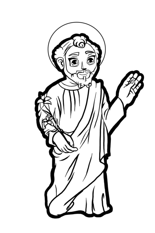 San José - illustration, characterdesign - eddyg-1360 | ello