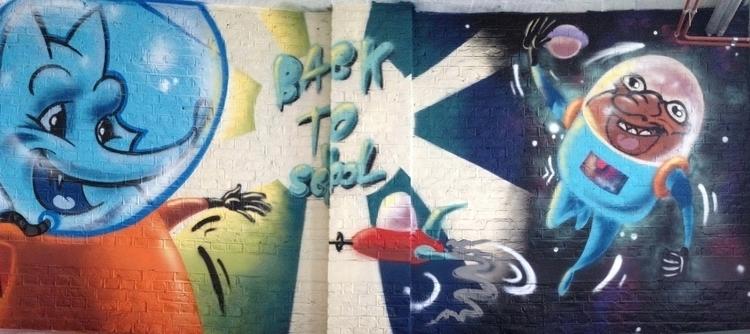 school Space Odissey - painting - grmjean | ello