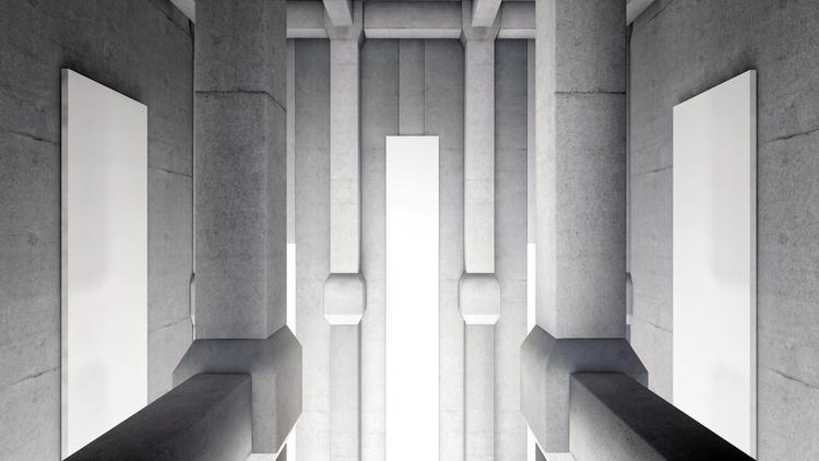 unrealspace / concrete 02 - 01 - aerloth | ello