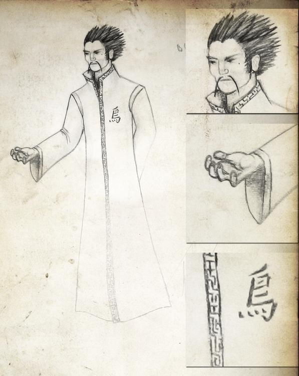 Oriental Magician - design, conceptart - eddyg-1360 | ello