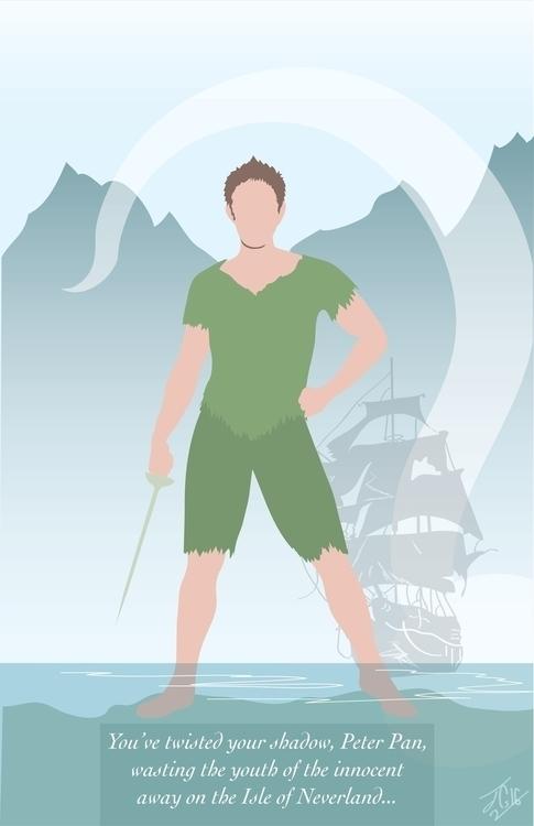 Peter Pan Poster redo previous  - jessieg-1223 | ello