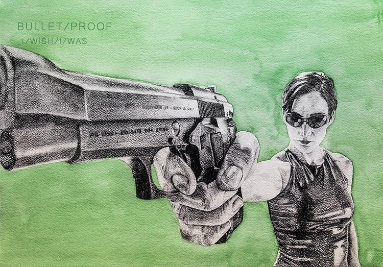 09. Bullet Proof - illustration - elenamantovan | ello