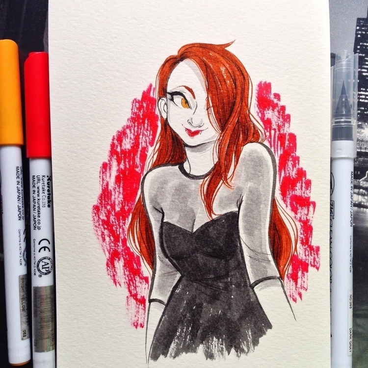 favorite sketches Inktober 2014 - cathrineillu | ello