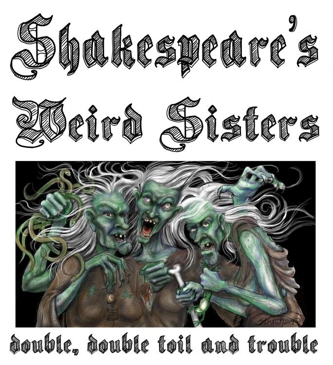 Weird Sisters- Digital Illustra - sstruck | ello