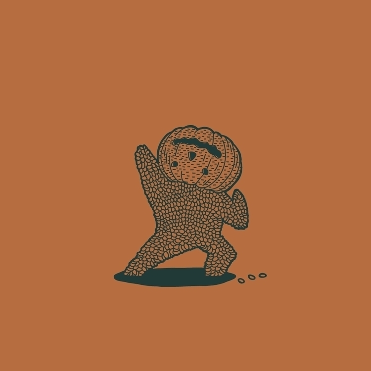 09 - pumpkin, inktober2015, characterdesign - nickvcarro | ello