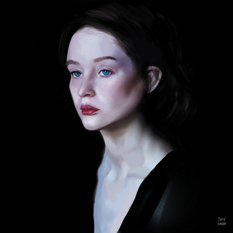 5, painting, drawing, study - amynyan | ello