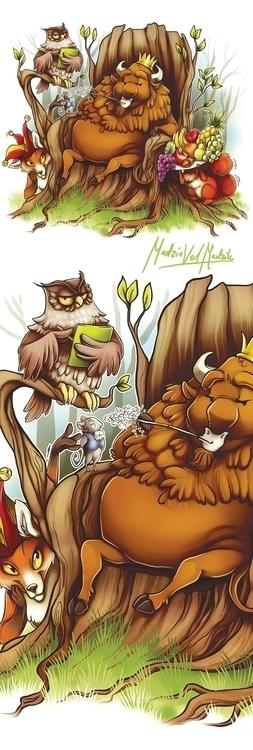 illustration, characterdesign - madziavelmadzik | ello
