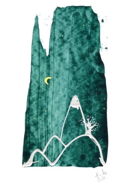 Dripping painting matnoard - art - palahoyos | ello