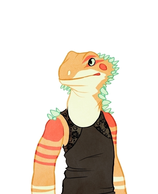Bearded Dragon - beardeddragon, reptile - samlbrown | ello