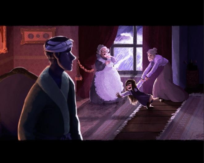 princess scene 3 - alittleprincess - ladyalouette | ello