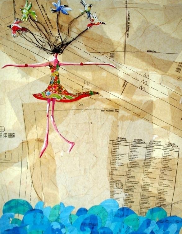 Collage artwork Canvas - collageart - palahoyos   ello