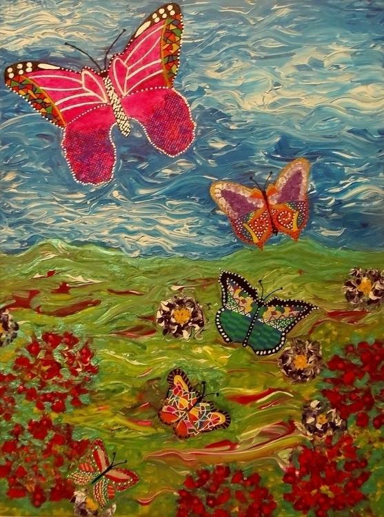 Butterflies Migration - mariposa101   ello