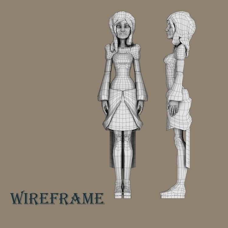 humanoid organic character, Eve - zilmickelson | ello