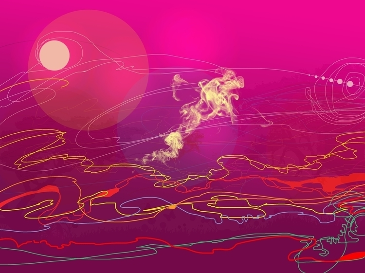 desperation - painting, abstractpainting - sunnyefemena | ello