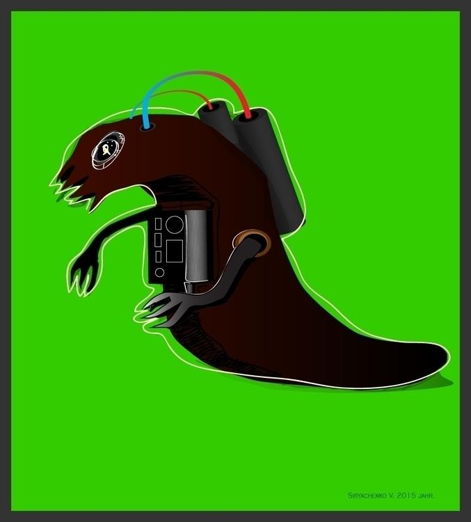 Kosmit metamorphosis - illustration - vitalic-1248 | ello