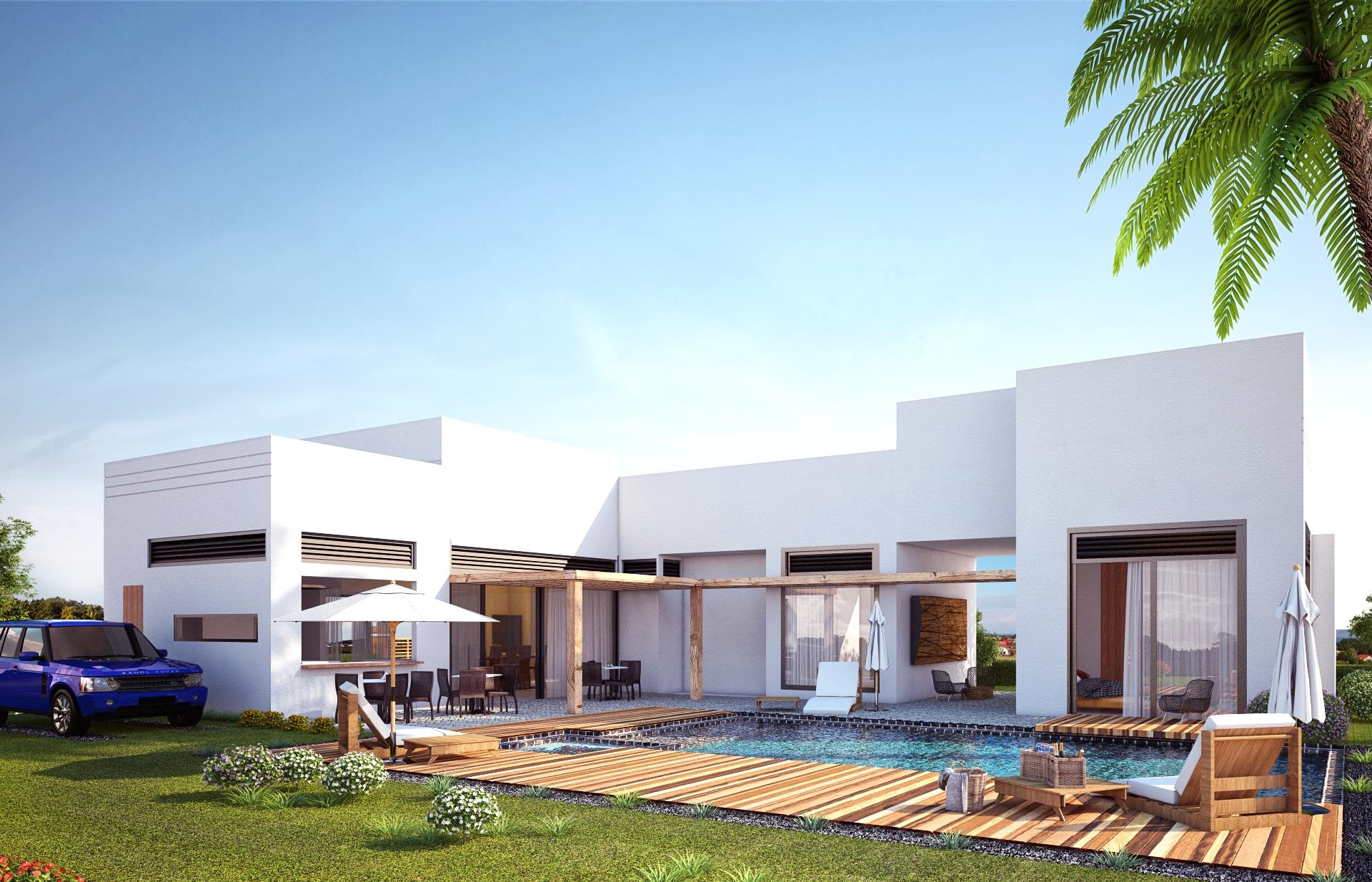 Exterior casa villeta - architecture - cristianebratt | ello