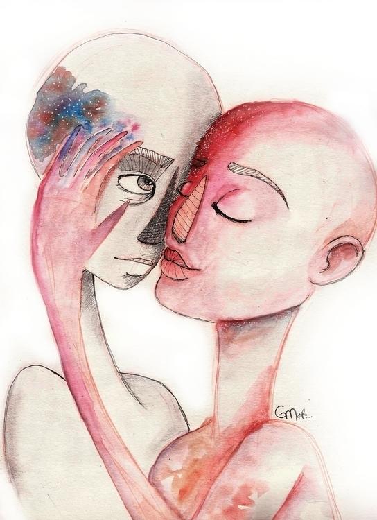 Show colors - drawing, illustration - gabrielamolinaro | ello