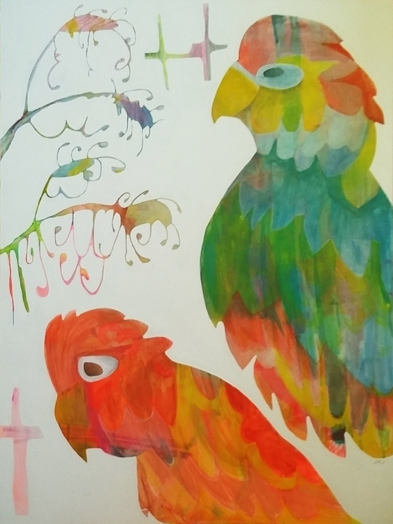 Astrid Grevillia - birds, native - janickejohansen | ello