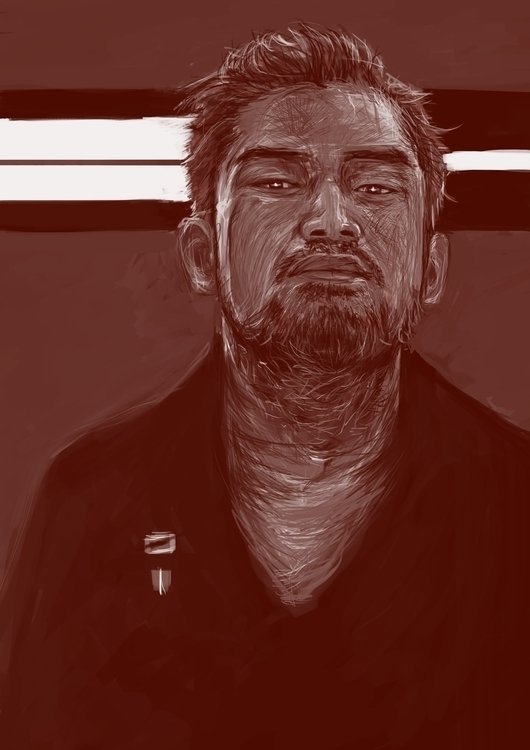 illustration, selfportrait, art - dancelis   ello