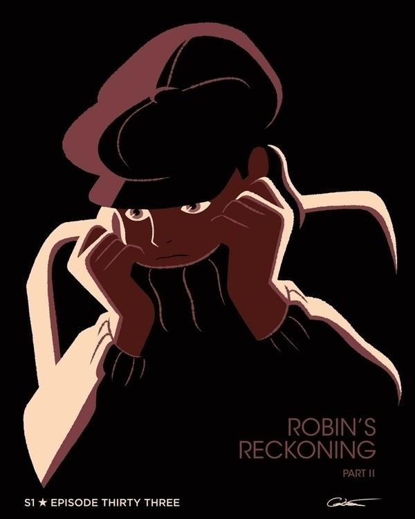 poster Episode 33 Batman Animat - caltsoudas | ello