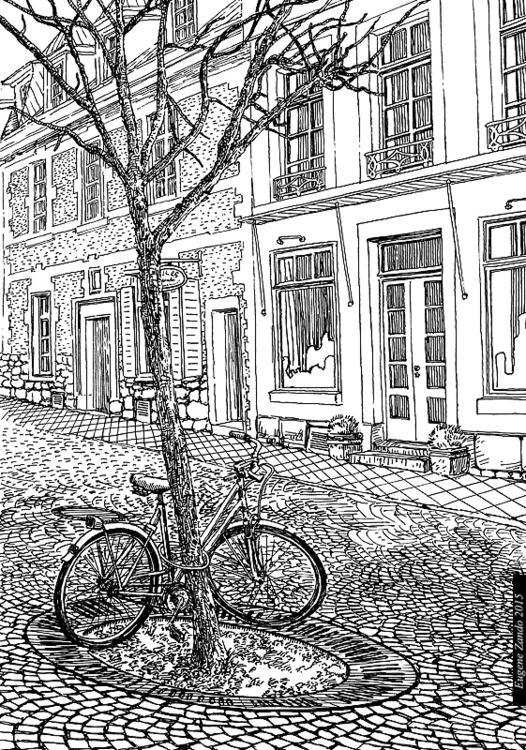 E13 - illustration, drawing - sarychev | ello