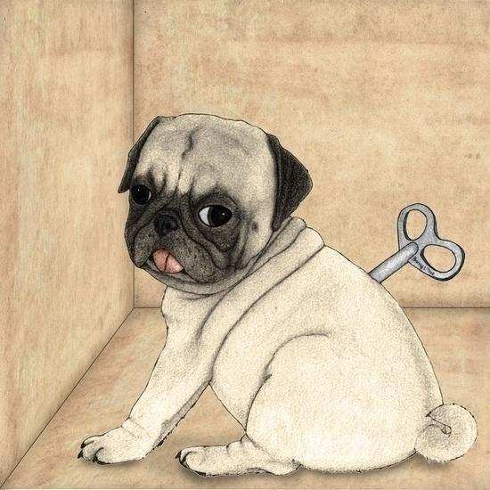 Toy Dog; Pug Barruf - pug, toydog - barruf | ello